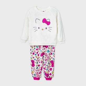 Hello Kitty Toddler Girls' 2pc Pajama Set -