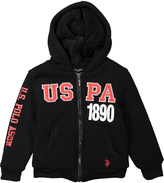 U.S. Polo Assn. Black 'USPA' Hoodie - Boys