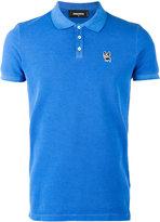 DSQUARED2 pug patch polo shirt - men - Cotton - XXL
