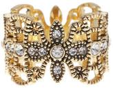 Ariella Collection Crystal Filigree Ring
