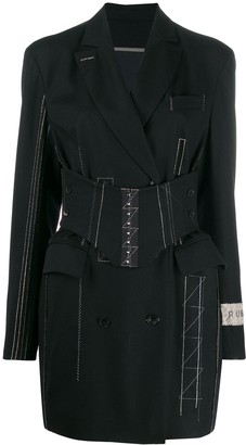 Ruban Jacket dress with corset