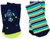 Gymboree Rocket & Stripe Socks