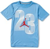 Jordan Big Boys 8-20 23 Flow Dri-FIT Short-Sleeve Tee