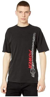Brixton Brickyard Short Sleeve STT (Bel Air Black) Men's Clothing