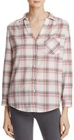 Joie Haywood Plaid Shirt