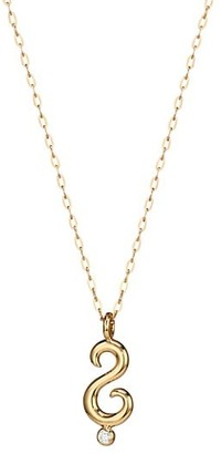 Tamara Comolli Why 18K Yellow Gold & Diamond Pendant Necklace