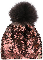 Norton Co. sequin embellished beanie
