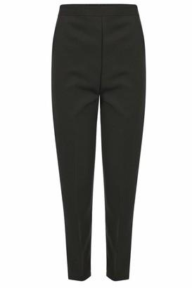 Generic 100% UK MADE Ladies Half Elasticated Waist Trousers Pants - 8 Sizes 3 Leg Lengths 10 colours