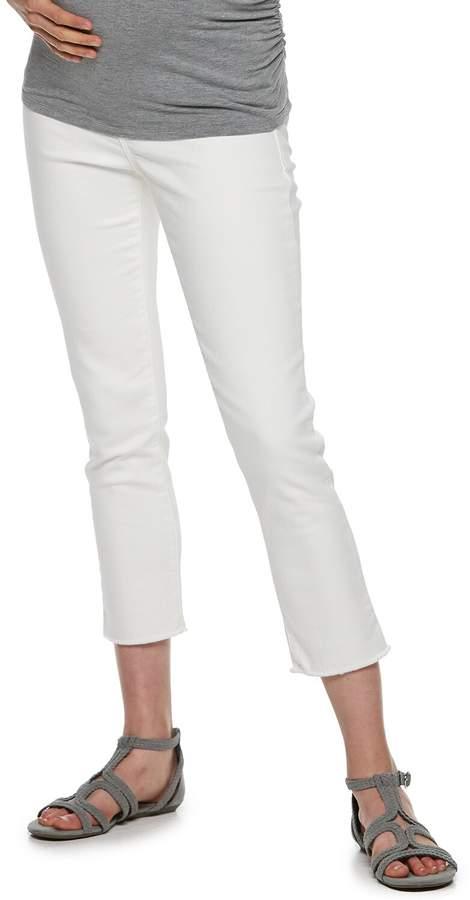1250d1aa5b2f8 White Maternity Leggings - ShopStyle