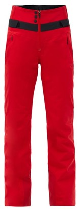 Bogner Fire & Ice Borja High-rise Soft-shell Ski Trousers - Red