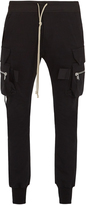 Rick Owens Slim-leg cotton cargo trousers
