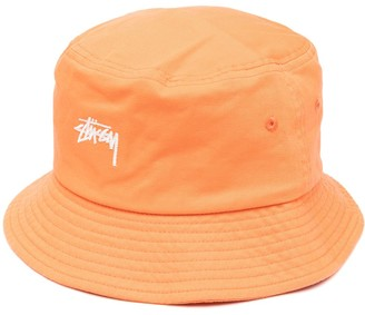 Stussy Logo-Embroidered Bucket Hat