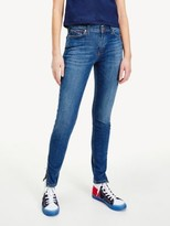 Tommy Hilfiger Nora Skinny Fit Ankle Zip Jeans