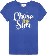 Wildfox Couture Chase The Sun cotton T-shirt 7-14 years