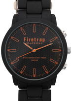 Firetrap Blackseal Soft Touch Mens Watch