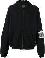 Amen zip hoodie - men - Cotton - 46