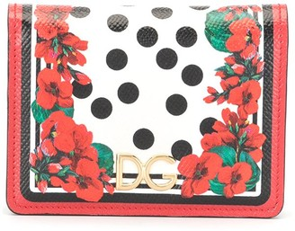 Dolce & Gabbana floral print purse