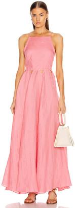 Cult Gaia Bella Dress in Pink   FWRD