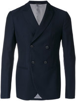 Giorgio Armani double breasted blazer - men - Viscose/Virgin Wool - 46