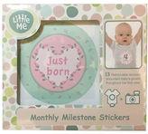 Little Me Monthly Milestone Sticker Set