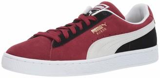 Puma Men's Suede Classic Sneaker Mole White 5 M US