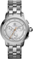 Tory Burch TRB1001 stainless steel chronograph watch