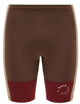 7 DAYS ACTIVE Combo Sprinter Stretch-jersey Shorts - Red