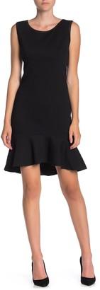 Max Studio Sleeveless Flounce Hem Dress