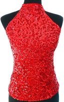Eyekepper Women's All Over Glitter Sequins Tank Tops Vest