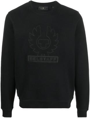 Belstaff Embroidered Logo Sweatshirt