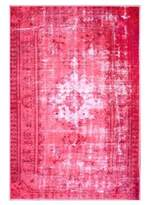 nuLoom Machine Made Ornate Floral Rug