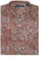 Perry Ellis Short Sleeve Printed Paisley Shirt