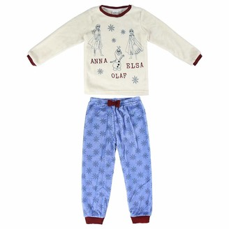 CERDA ARTESANIA Girl's Pijama Largo Coral Frozen 2 Pyjama Sets