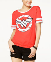 Bioworld Juniors' Wonder Woman Graphic Logo T-Shirt