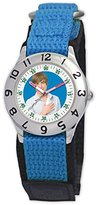 Disney Kids' D050S502 High School Musical Troy Blue Velcro Watch