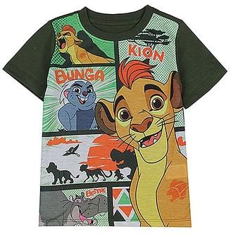 Children's Apparel Network Boys' Tee Shirts GREEN - The Lion Guard Color Block Tee - Toddler
