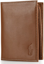 Polo Ralph Lauren Men's Wallet, Burnished Billfold Wallet with Window