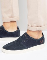 Fred Perry Shields Suede Trainers
