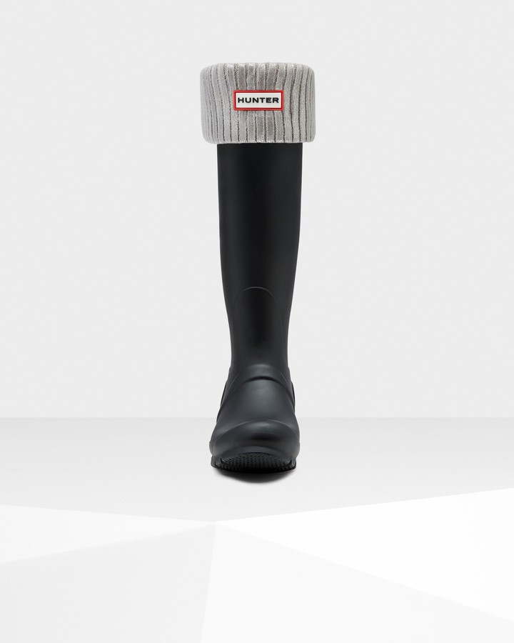 Thumbnail for your product : Hunter Original Ribbed Foiled Tall Boot Socks