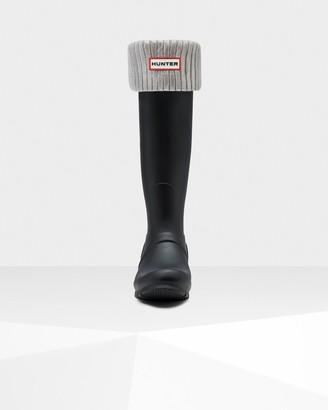 Hunter Original Ribbed Foiled Tall Boot Socks