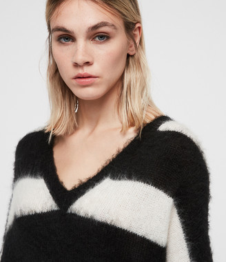 AllSaints Byers V-neck Sweater