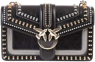 Pinko Love Embellished Crossbody Bag