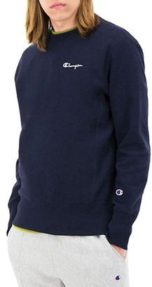 Champion Logo Cotton-Blend Sweatshirt