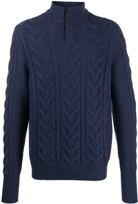 N.Peal Cable-Knit Jumper