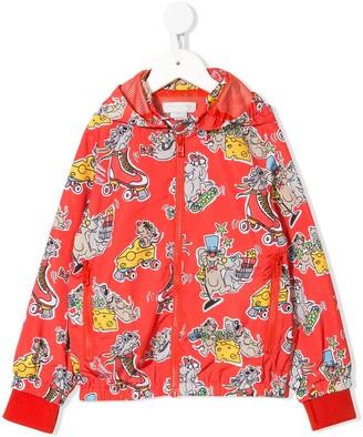Stella Mccartney Kids Happy Mice Print Jacket