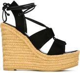 Saint Laurent 'Espadrille 95' sandals - women - Leather/Suede/rubber - 36