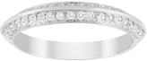 Jenny Packham Brilliant Cut 0.35 Carat Total Weight Wedding Ring in 18 Carat White Gold