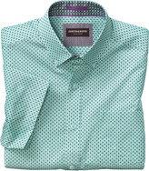 Johnston & Murphy Mirror Triangle Short-Sleeve Shirt