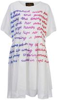 Vivienne Westwood Women's Groan Baby TShirt Dress - White