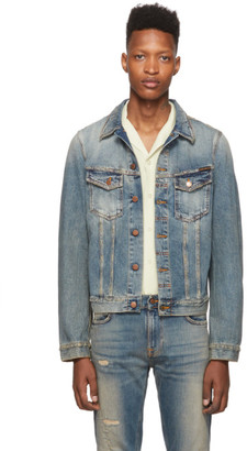Nudie Jeans Indigo Denim Billy Shimmering Jacket